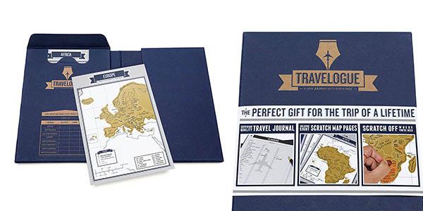 cuaderno anotaciones para viajes Luckies of London regalo viajeros chollo