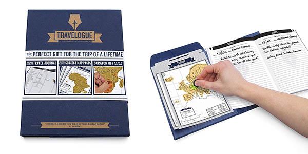 cuaderno de viajes Luckies of London ideal como regalo para viajeros barato