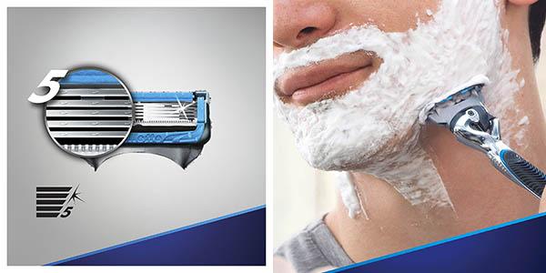 cuchillas Gillette Fusion Proshield para afeitado suave oferta