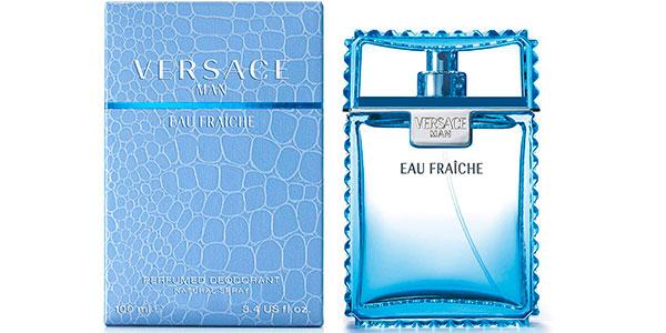 Desodorante Versace Eau Fraîche para hombre en formato vaporizador de 100 ml barato