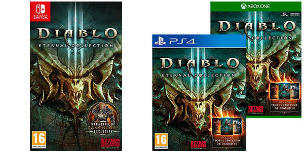 Diablo 3 para PS4, Xbox One y Nintendo Switch