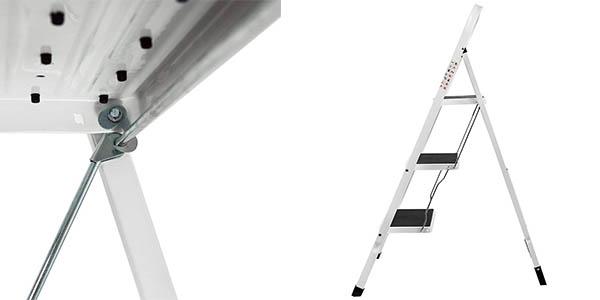 escalera doméstica de 3 escalones plegable Home Discount oferta