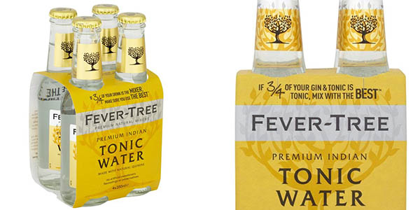 Fever-Tree agua tónica oferta