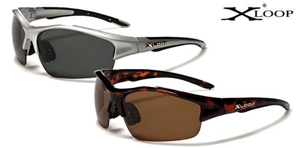 Gafas de sol polarizadas X-Loop Aurora para deporte en varios colores baratas en Amazon