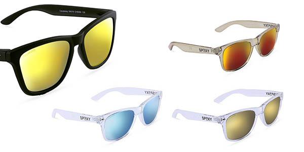 gafas de sol con lentes polarizadas estilo Wayfarer