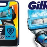 Gillette Fusion Proshield Chill recambios cuchillas baratas