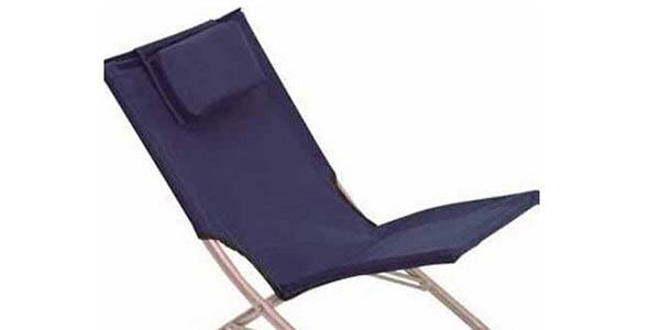 Chollazo silla de playa plegable con almohadilla por s lo for Hamaca plegable playa