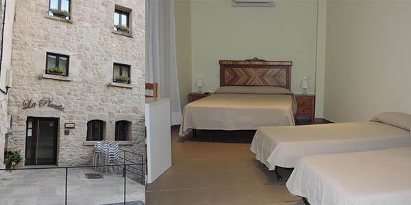 hotel LA Placeta alojamiento barato para la Feria de Teatro en la calle de Tárrega