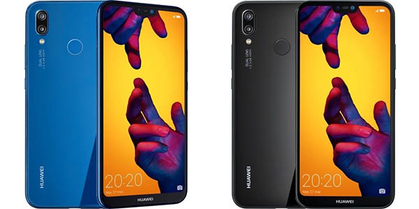 Smartphone Huawei P20 Lite con notch