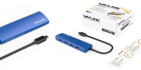 Hub USB-C de 4 puertos rebajado en Amazon