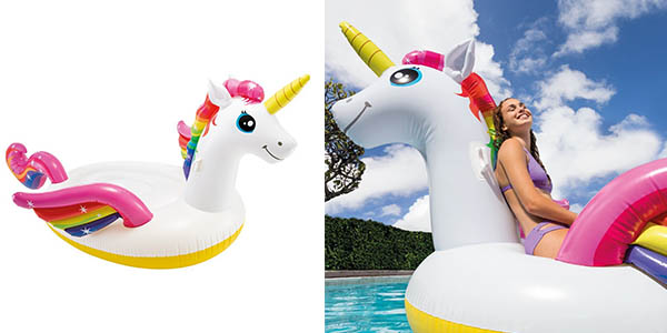 Intex Unicornio gigante hinchable barato