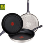 Set de 3 sartenes Tefal Daily Cook de acero inoxidable de 20, 24 y 26 cm chollazo en Amazon
