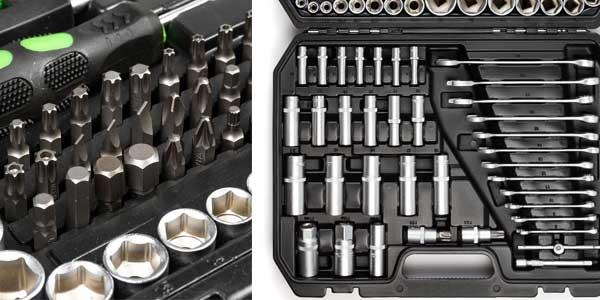 Maletín de herramientas T-LoVendo de 215 piezas chollo en eBay