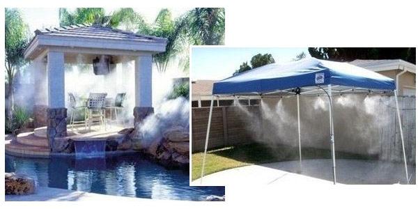 Kit difusor de agua para terraza y jardines chollo en eBay