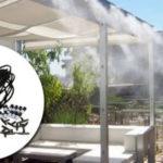 Kit difusor de agua para terraza y jardines barato en eBay