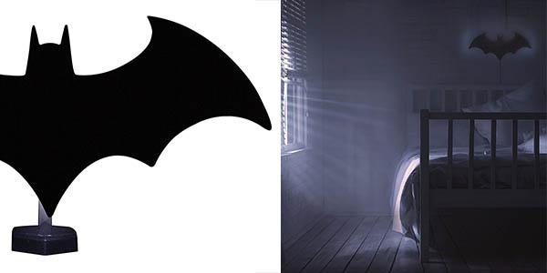 lámpara de diseño Batman original y fácil de instalar chollo