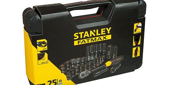 maletín con cabezales puntas de llaves Stanley FatMax chollo