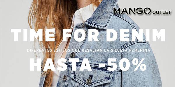 a0064b676ed5 Hasta 50% de descuento en prendas denim en Mango Outlet ¡Aprovecha!