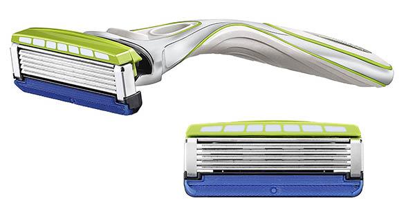 maquinilla de afeitar con recambios cuchillas de 5 hojas Wilkinson Sword Hydro Sensitive chollo