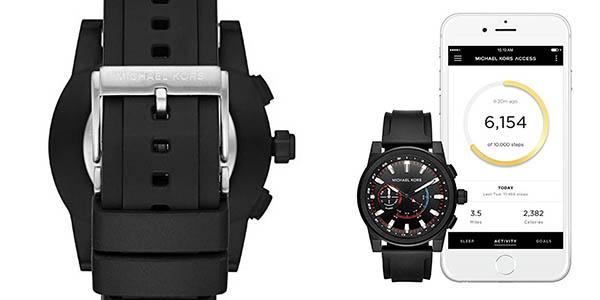 Michael Kors Access Grayson MKT4010 reloj analógico con aplicación móvil chollo