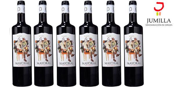 Chollo Pack de 6 botellas de vino tinto Mayoral Reservado con D.O. Jumilla