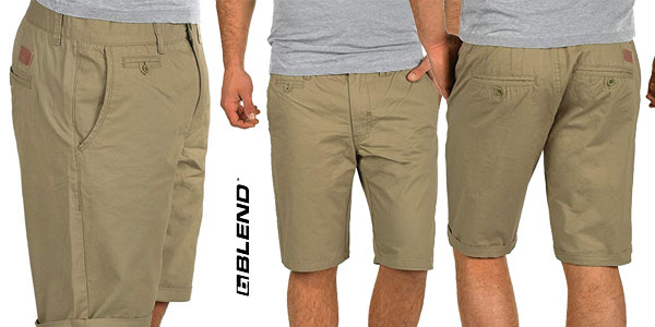 Pantalón corto chino Blend Sasuke en diferentes colores chollo en Amazon