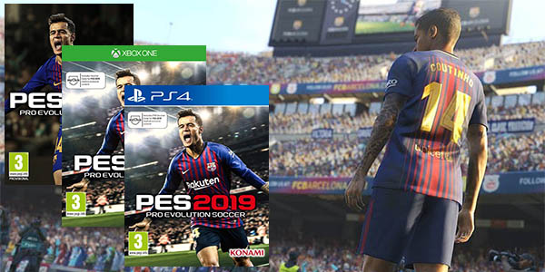 Pro Evolution Soccer 2019 (PES 2019) para PC Steam, PS4 y Xbox One
