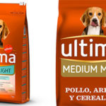 Pienso Ultima Medium-Maxi Light con pollo, cereales integrales y arroz para perros barato
