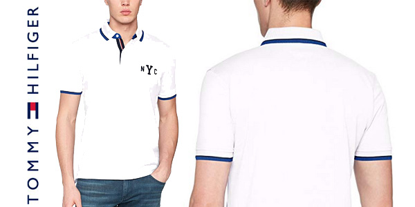 Polo Tommy Hilfiger WCC Avery Tipped chollo en Amazon