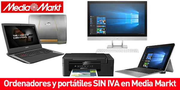 Ordenadores y portátiles baratos en Media Markt