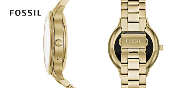 Smartwatch Fossil Q Venture Gen 3 en acero inoxidable dorado para mujer chollo en Amazon