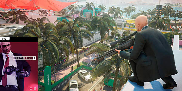 Reserva Hitman 2 para PC Steam barato