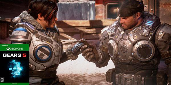 Reserva Videojuego Gears 5 para Xbox One en descarga digital al mejor precio