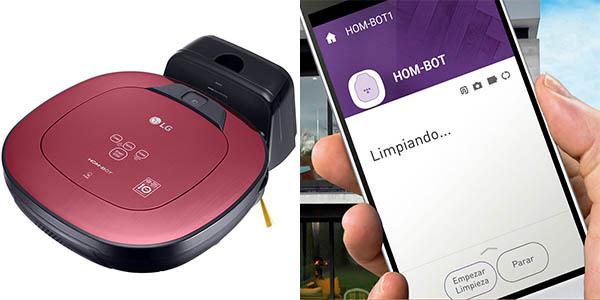 Robot aspirador LG Hombot Turbo Serie 11 VR9624PR barato