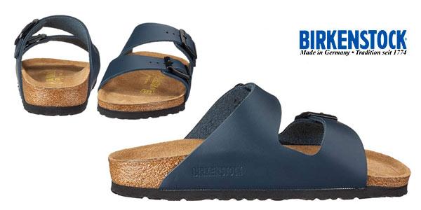 Sandalias Birkenstock 651163 unisex en color azul baratas en Amazon