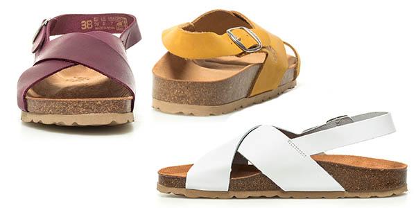 sandalias Yokono Mabul de cuero cómodas oferta