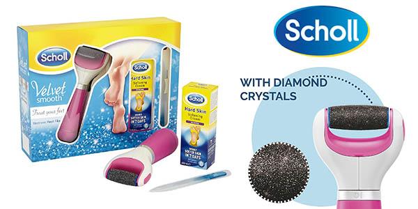 Scholl pack pedicura con lima electrica lima para uñas y crema para pies barato
