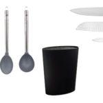 Set de tacoma con 4 cuchillos San Ignacio Premium y utensilios barato en Amazon