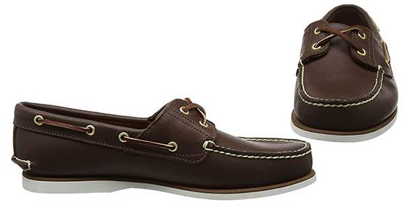 Timberland 2-Eye Boat Shoe náuticos actuales para hombre oferta