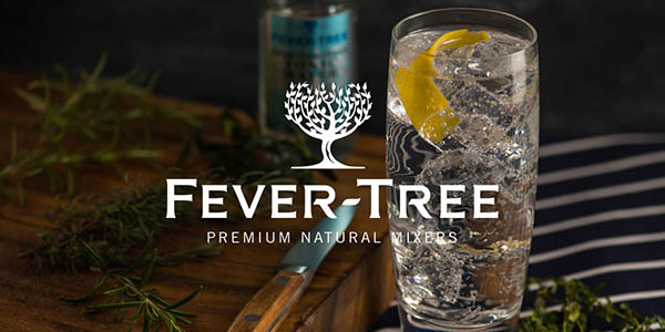 tónica Fever-Tree pack de gran formato botellas 200 ml chollo