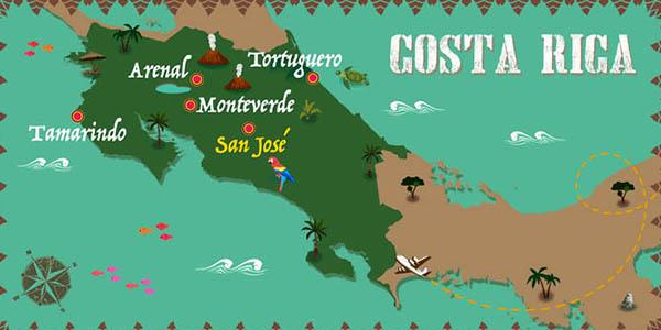 viaje organizado a Costa Rica low cost