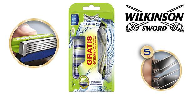 Wilkinson Sword Hydro 5 Sensitive maquinilla de afeitar con recambios barata