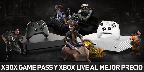 2 meses de Xbox Game Pass o 2 meses de Xbox Live
