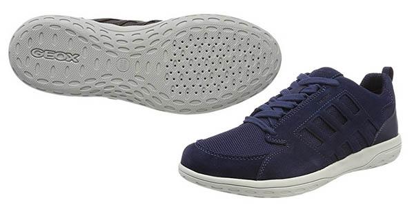 zapatillas casuales Geox U Mansel cómodas chollo