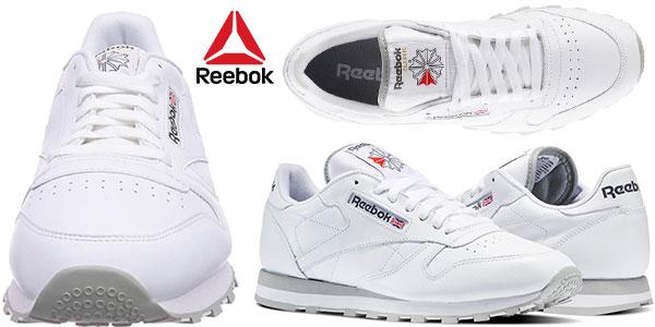 347c4525d86c2 Chollazo Zapatillas Reebok Classic Leather para hombre por sólo 31 ...