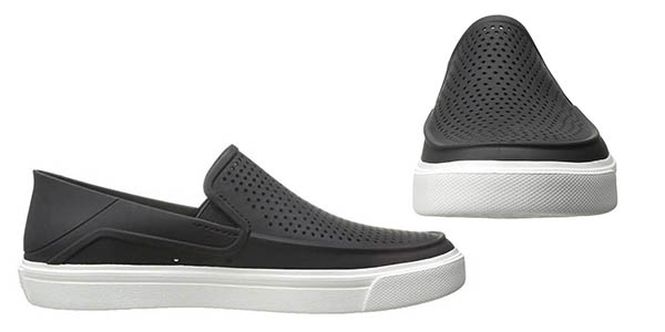 mocasines de goma transpirables para hombre Crocs Citilane Roka chollo