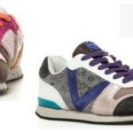 Zapatillas Victoria en piel combinada para mujer chollo en eBay