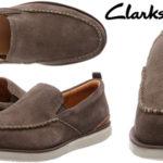 Zapatos mocasines de piel Clarks Edgewood Step para hombre baratos