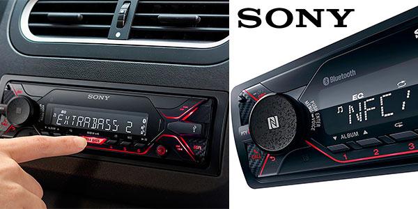 Autorradio Sony DSX-A410BT con NFC y Bluetooth barato