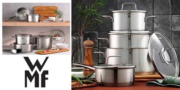 Batería de cocina WMF Merano 5 piezas chollo en eBay